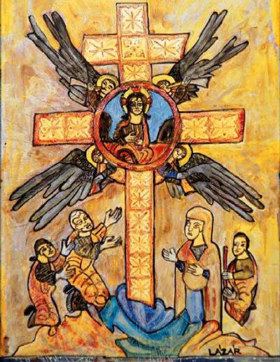 Lázár Imola: Örmény Biblia (zománc)