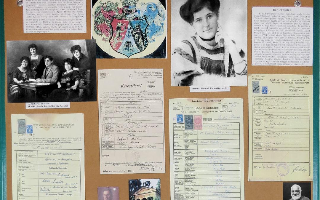 Szemelvények a magyarörmény múltból, családi archívumok alapján – 1998