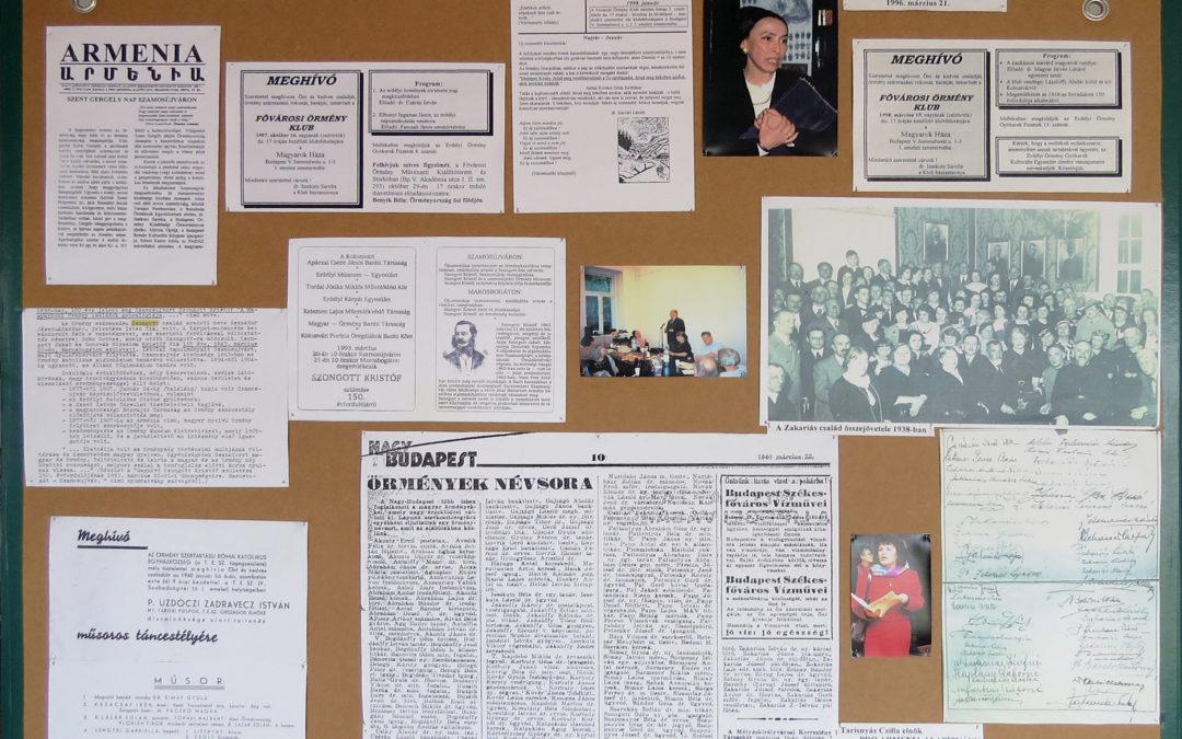 Velünk élő kultúrák: Örmények – 1996
